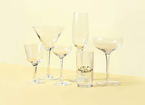COCKTAIL GLASS GUIDE